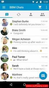 تحميل بي بي ام مسنجر 2016 BBM Android لدردشة النصية والمكالمات الصوتية