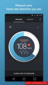 تنزيل برنامج لقياس ضربات القلب Instant Heart Rate مجانا للاندرويد