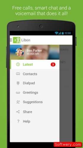 Libon – Free Calls & Voicemail اتصال مجاني عبر الانترنت 2015 - www.softwery.com Image00001