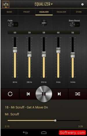 تحميل تطبيق Equalizer Plus لتضخيم الصوت اندرويد