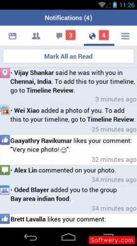... تعليقات و منشورات فيس بوك 2015 1.1 screenshot 4 ...