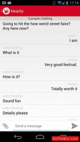 تحميل تطبيق FireChat دردشة بدون انترنت للاندرويد