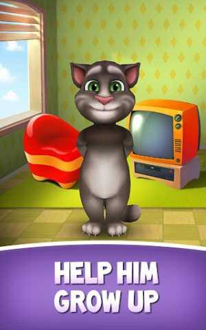 تحميل لعبة القط توم المقلد للأصوات للاندرويد