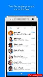 التحديث الجديد تطبيق Facebook Messenger دعم الحسابات المتعددة - softwery.com - Image00001