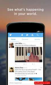 تطبيق تويتر Twitter ميزة جديدة لعرض التغريدات اندرويد وأيفون - www.softwery.com - Image00001