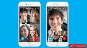 تطبيق سكايب Skype يضيف ميزة المكالمات الجماعيه اندوريد وايفون و ويندوز - www.softwery.com Image00001