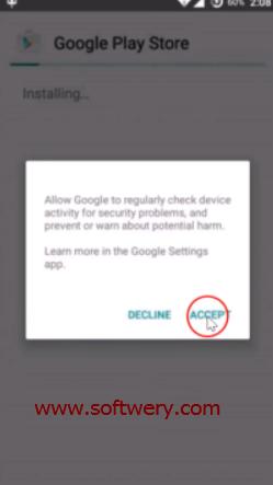 طريقة تنصيب سوق جوجل بلاي Google Play apk