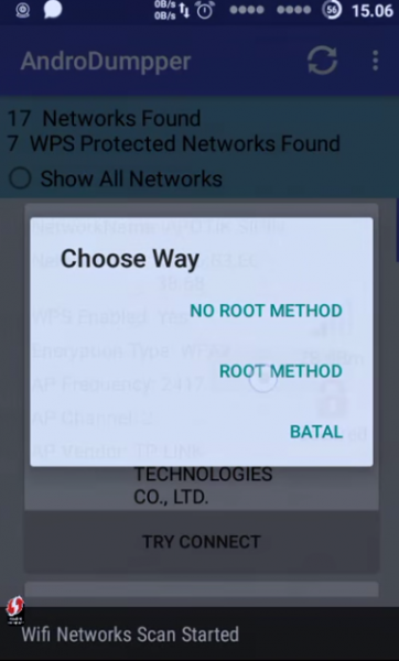 برنامج اختراق شبكات الواي فاي بدون روت للاندرويد مجانا