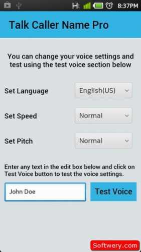 تحميل برنامج نطق اسم المتصل Caller Name Talker للأندرويد APK