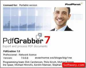 برنامج PdfGrabber v7 لتحويل الكتب الاكترونية PDF الى ملفات الورد WORD